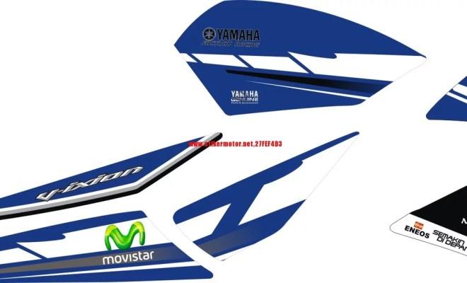 STRIPING STIKER MOTOR YAMAHA V-XION MOTO GP