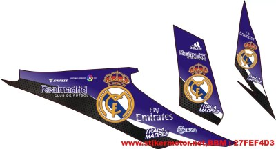 striping motor Revo real madrid