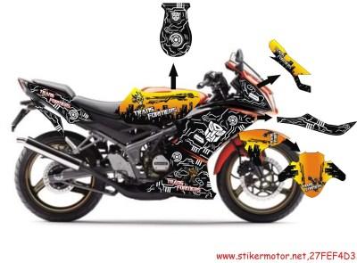 striping motor ninja krr transformer