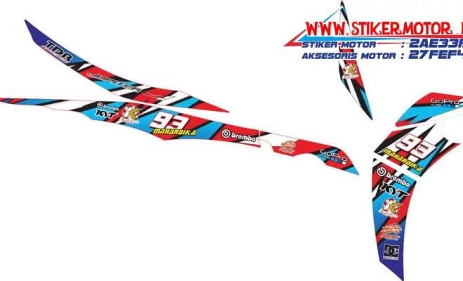 striping motor yamaha jupiter z1 racing