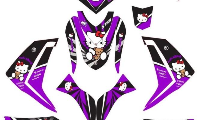 mio m3 hello kity purple
