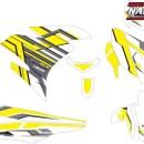 Stiker Motor YAMAHA MX KING 150 hi-tech white