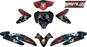 Stiker new vario fi spiderman