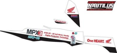 Stiker new vega r mpx3 oil