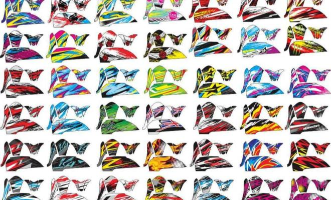 Stiker scoopy collection