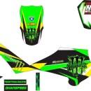 Stiker Motor sepeda monster energy