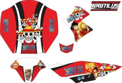 Stiker Motor vxion one piece