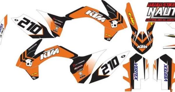 Stiker KTM 85 Motocross