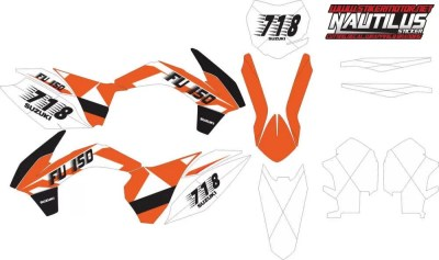 Stiker KTM 85 sx decal