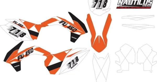 Stiker KTM 85 sx decal
