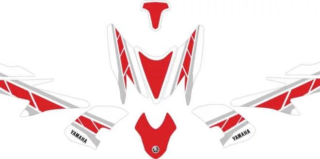 Stiker aerox 155 Anniversary MotoGP