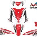 Stiker mio tribal racing