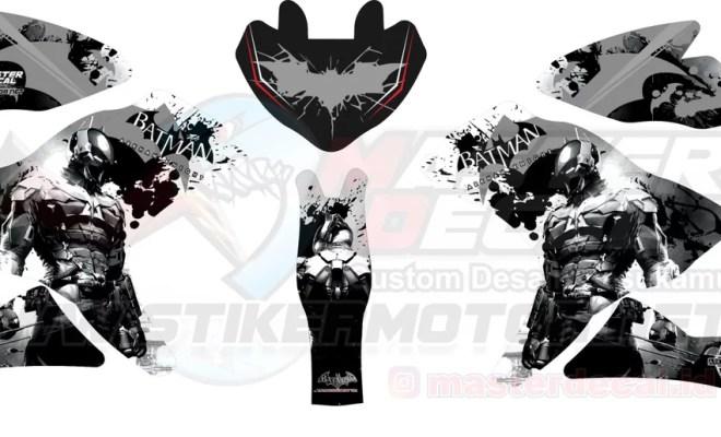 Stiker R25 BATMAN