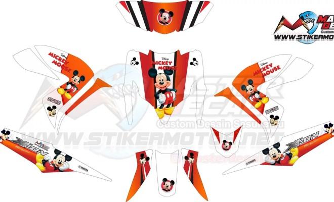 Stiker XEON RC mikey mouse