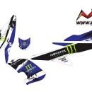 Stiker aerox 155 monster energy