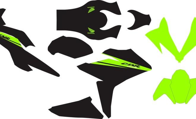 Stiker all new HONDA CBR150R v2
