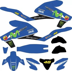 Stiker all new vixion 2017 movistar