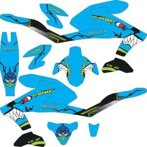 Stiker All New Vixion 2107 shark