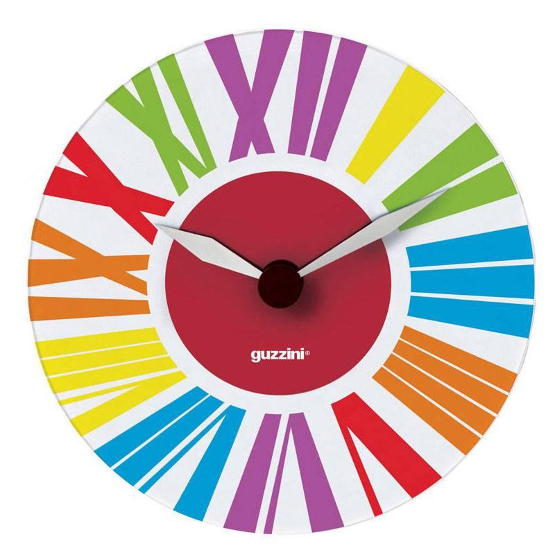 Orologio da Muro Happy Time diametro 38 in vetro di murano