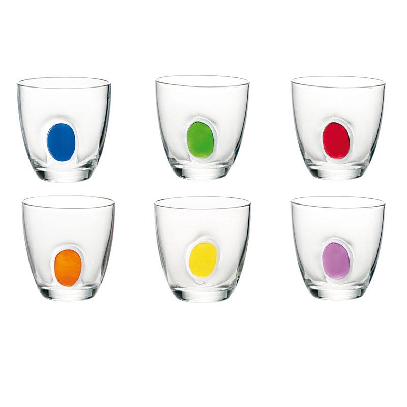 Bicchieri acqua 6pz Gocce  Guzzini  StilcasaNet set di