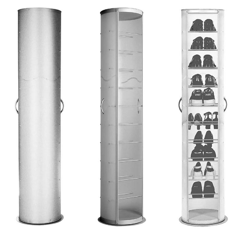 Scarpiera pop girevole 40x40xh173 cm in polipropilene 20