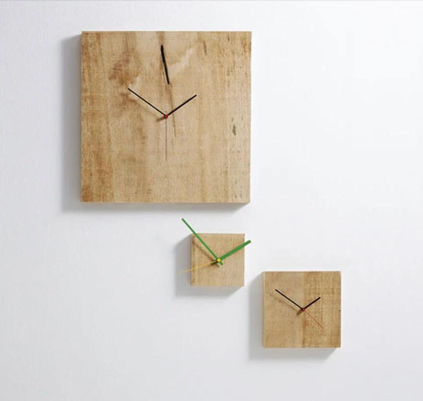 Orologio da parete Grande Nature 48x3x48 cm con cassa in