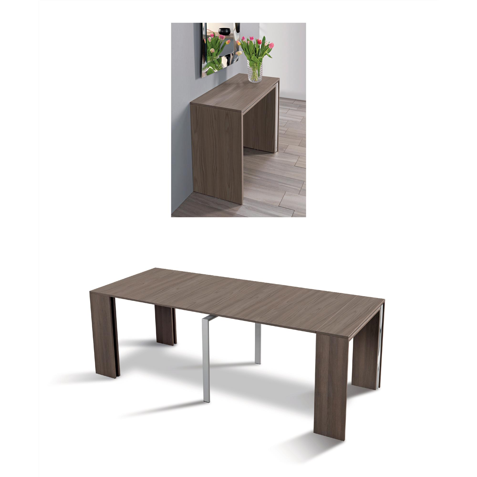 Tavolo Consolle allungabile richiudibile in soli 50 cm