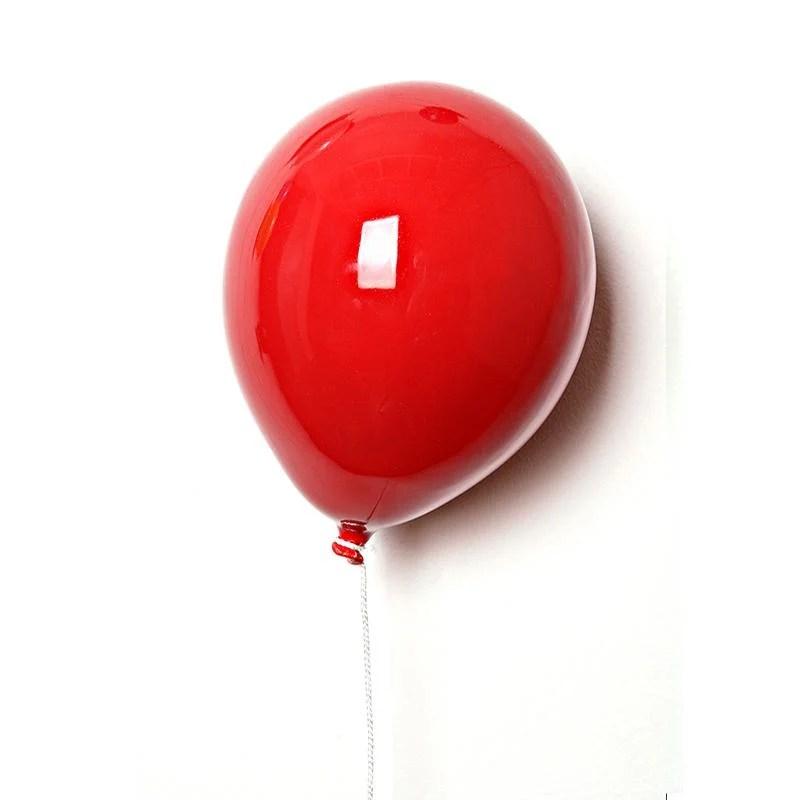 Palloncino decorativo in ceramica The Balloons si fissa a