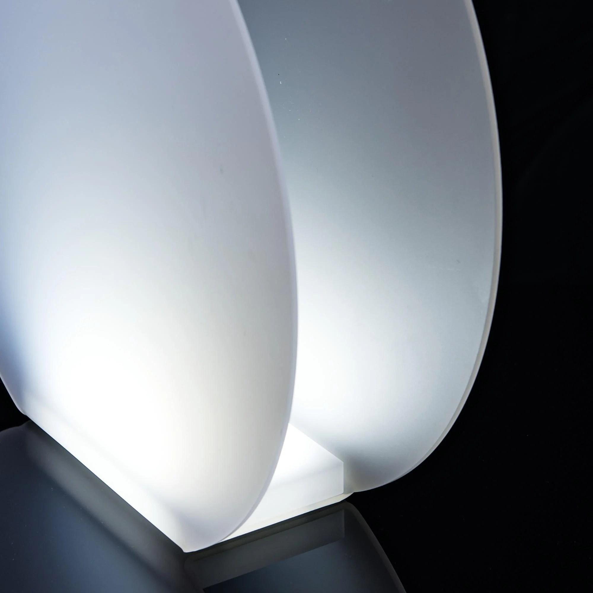 lampada abat jour a led vanity 21x8xh20 cm 2 85 watt 24 v