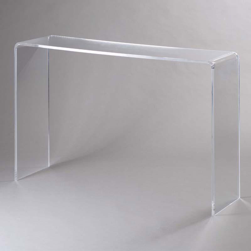 Consolle in Plexi trasparente SIMPLY 15 mm 113x31x765cm  Vesta  StilcasaNet tavolini da salotto