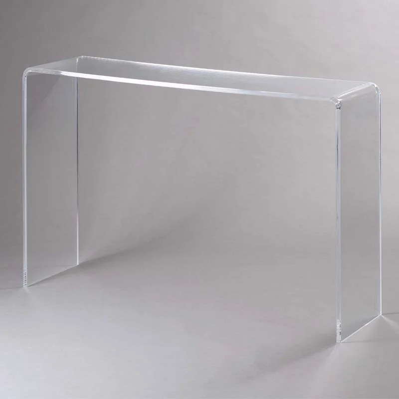 Consolle in Plexi trasparente SIMPLY 15 mm 113x31x765cm