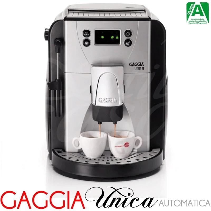 Macchina Caffe Automatica Unica  Gaggia SpA  Stilcasa