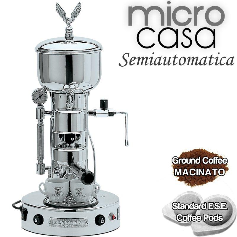 Macchina da caff SemiAuto Cromo  Elektra srl  Stilcasa