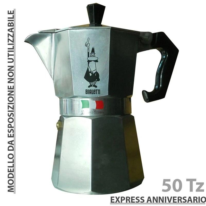 Moka Express Bialetti 50 tazze Expo  Bialetti  Stilcasa