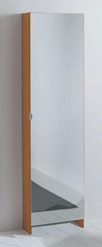 Scarpiera specchio 10 paia ciliegio  Longo  StilcasaNet