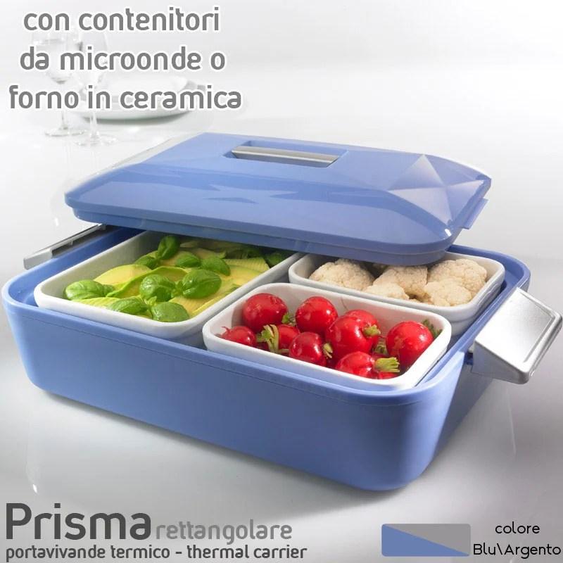Contenitore Termico rettangolare per alimenti con pirofila