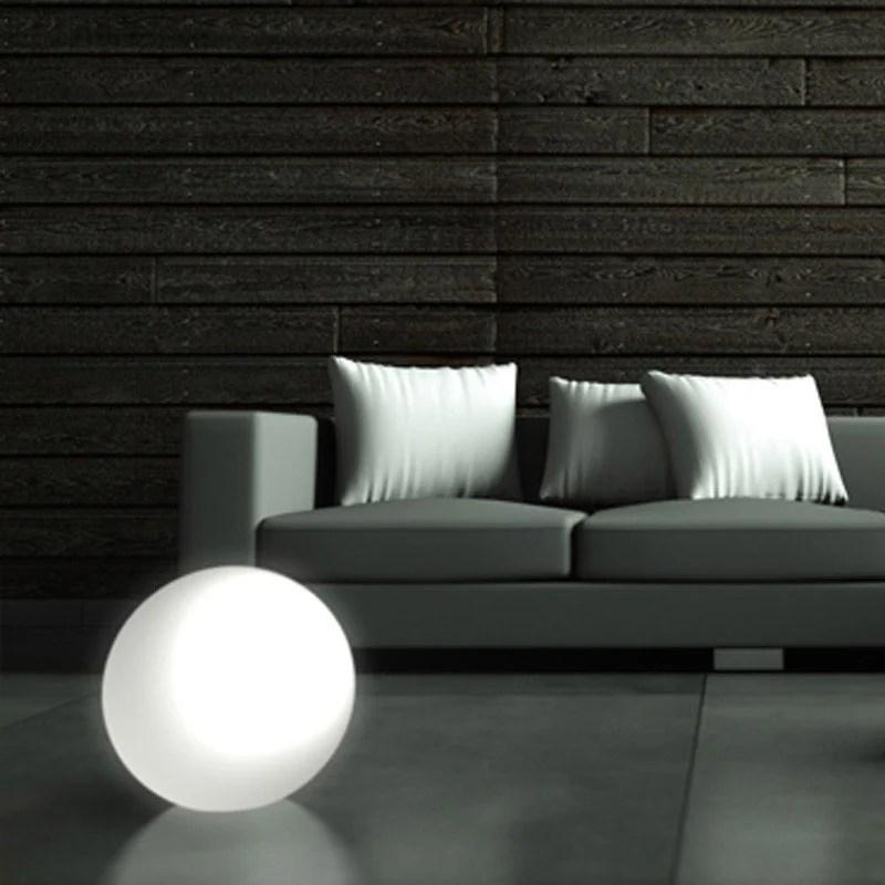 Lampada Sfera MOON per internoesterno diametro 45cm  Kloris  StilcasaNet lampade da terra