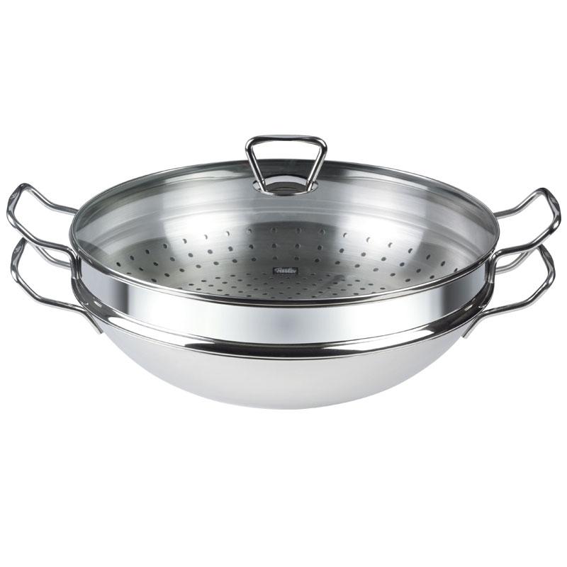 Vaporiera wok Nanjing induzione 36  Fissler Cookware