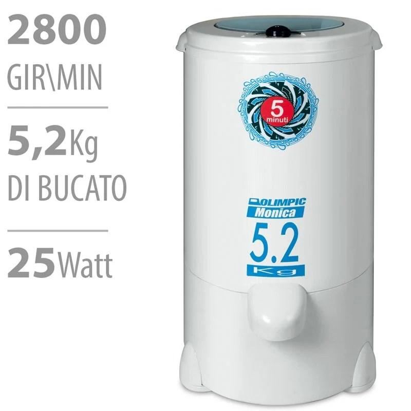 Asciugatrice a Centrifuga 5kg 25W  Olimpic  StilcasaNet