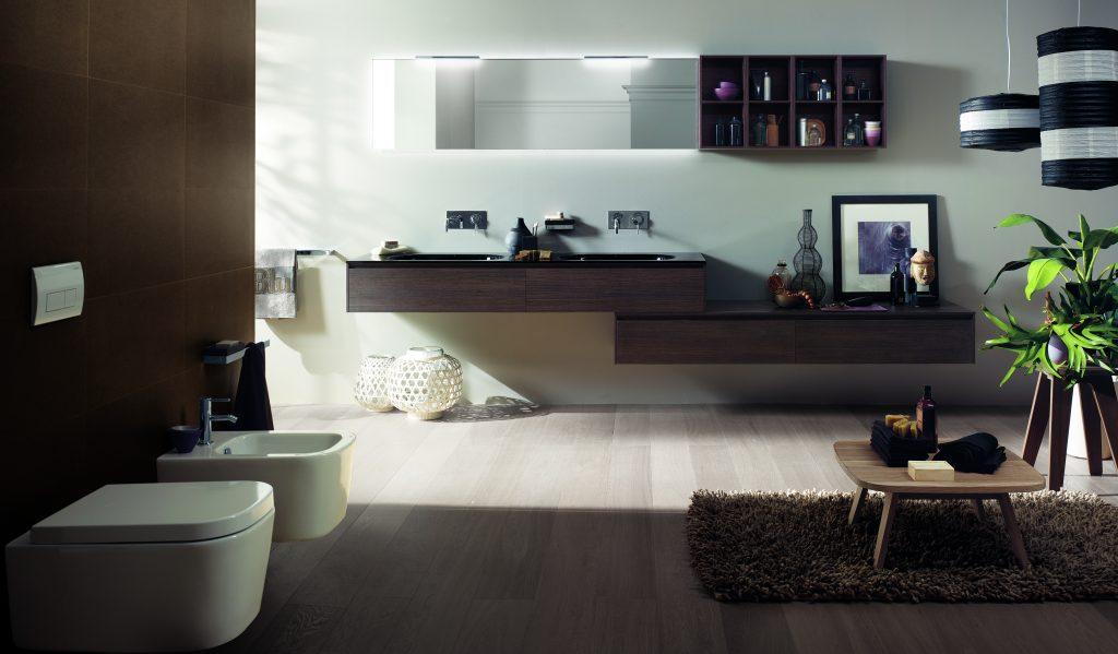 Un bagno bello e confortevole Come un salotto  wwwstileit