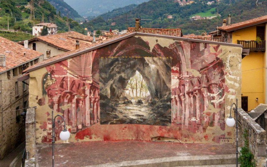 Wall in Art e Borondo. Ph.-Davide-Bassanesi