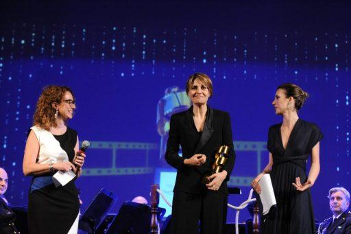 La premiazione a Paola Cortellesi in una delle precedenti edizioni