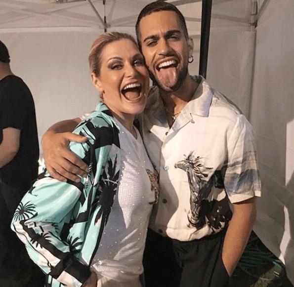 Simona Ventura e Mahmood