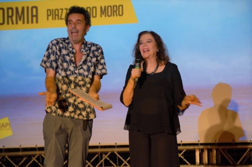 Fabrizio Sabatucci e Stefania Sandrelli