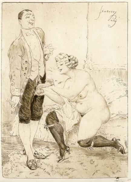 Heinrich Lossow 18431897 i desideri irrefrenabili della signora in sovrappeso  Stile Arte