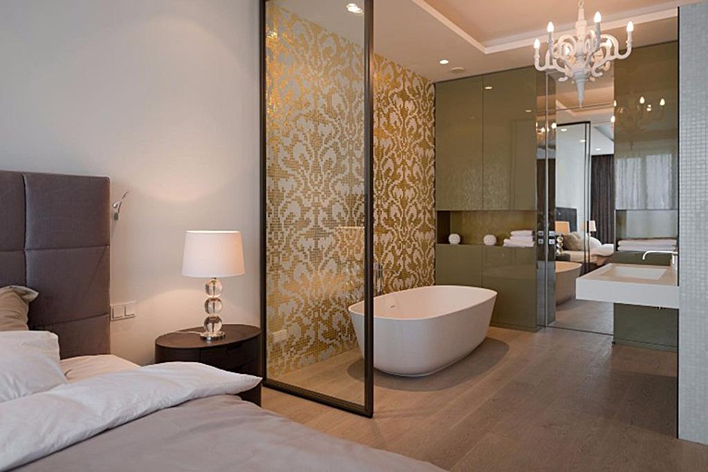 Open Space realizzare la camera da letto con bagno  Blog Stile Bagno