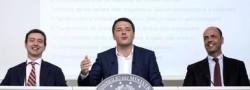 """Renzi annuncia: """"Il relitto andrà a Genova"""""""