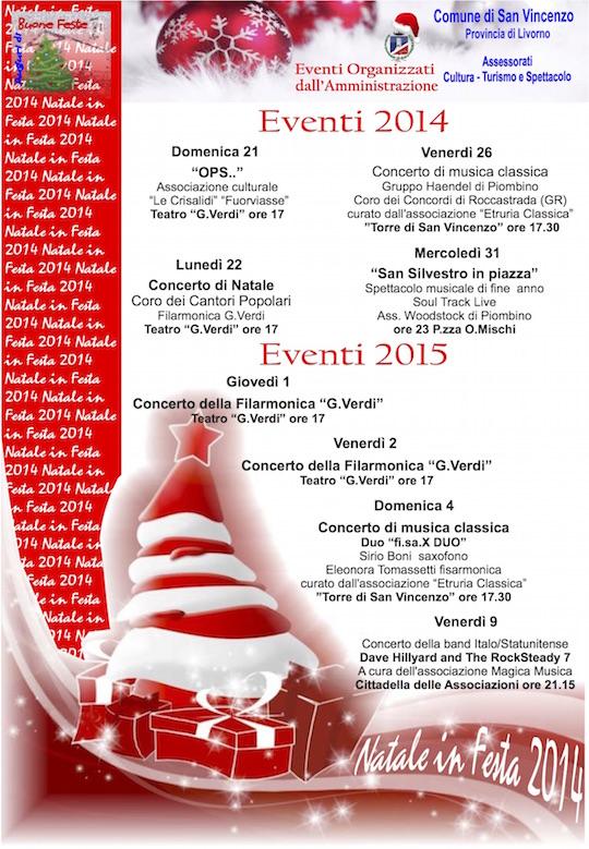 Eventi Natale 2014
