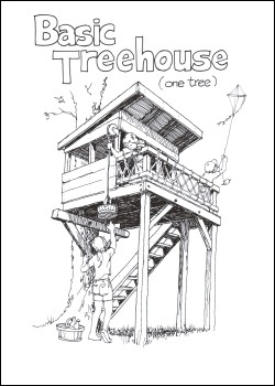 TREELESS TREE HOUSE PLANS
