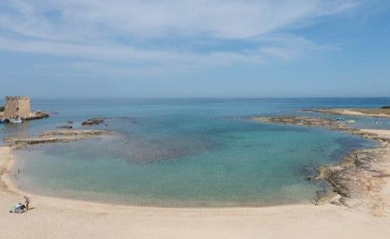 Veduta Spiaggia Torre Santa Sabina